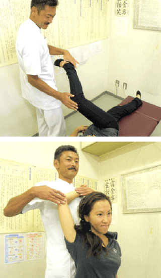 筋膜リリース、筋整復法