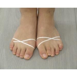 外反母趾のテーピング療法